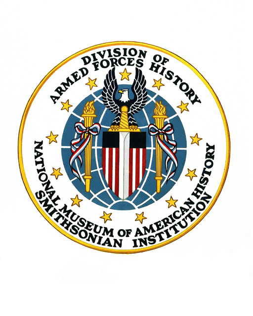Emblem for the Division of Armed Forces History, National Museum of American History, Smithsonian Institution