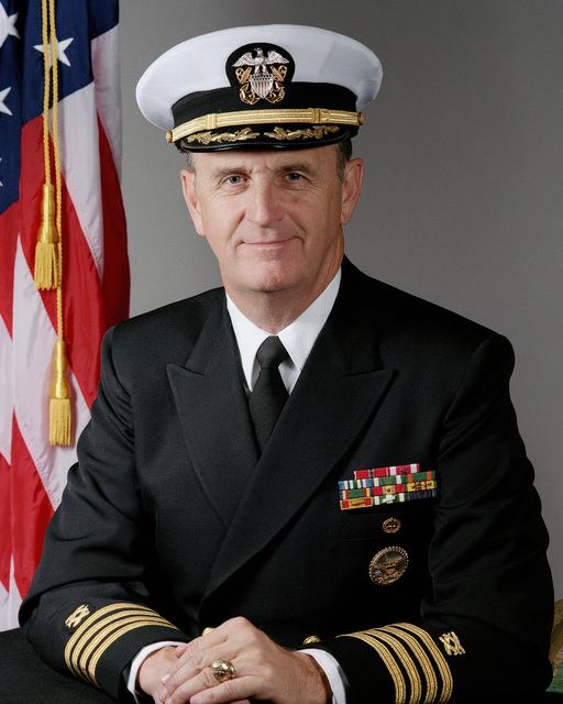 Captain (CAPT) Michael M. Dallam, USN (covered)