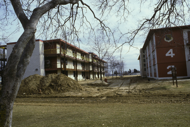 Base dormitories undergoing renovation