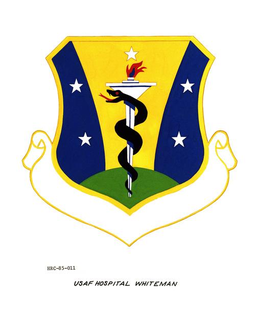 Approved unit emblem for: USAF Hospital, Whiteman