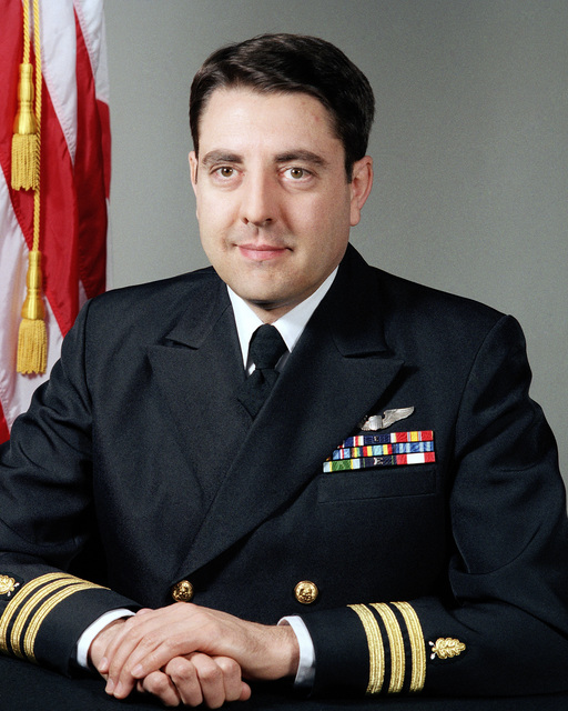 Commander (CDR) John V. Caron, USN (uncovered)