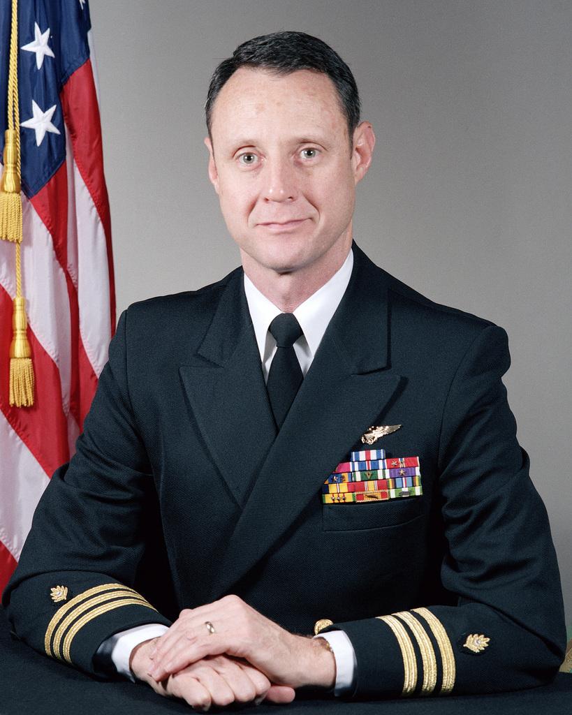 Commander (CDR) William L. Shankel, USN (uncovered)
