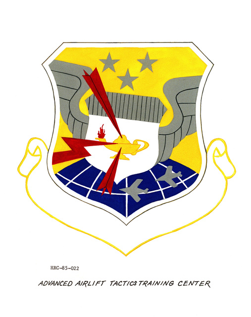 Approved unit emblem for: Advanced Airlift Tactics Training Center