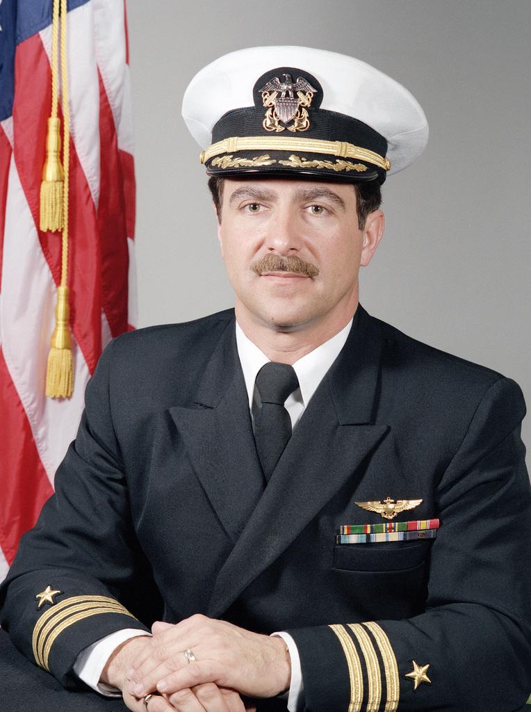 Commander Michael P. Cadenazzi, USN (covered)