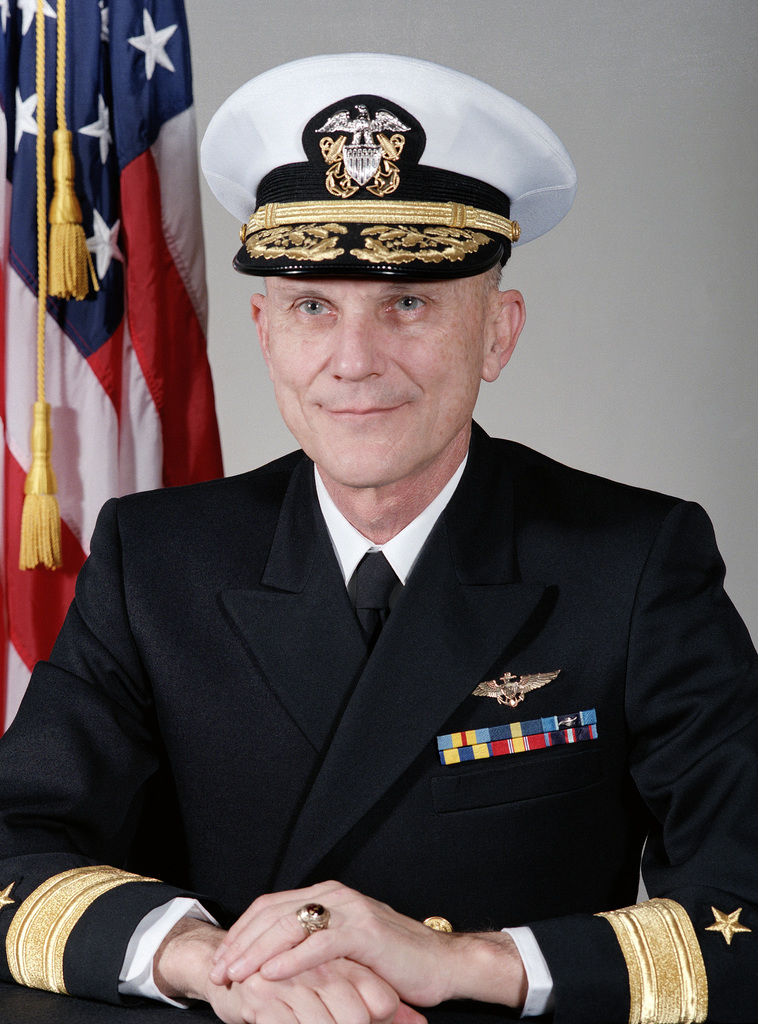 Commodore Thomas K. Mattingly II, USN (covered)