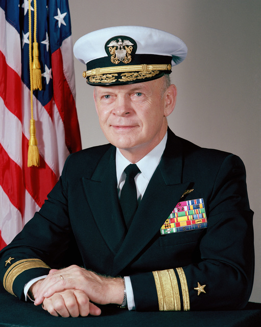 Rear Admiral Paul T. Gillcrist, USN (covered)