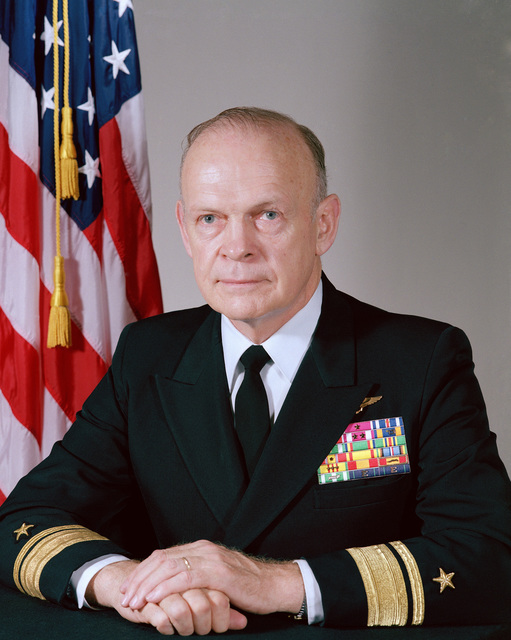 Rear Admiral Paul T. Gillcrist, USN (uncovered)