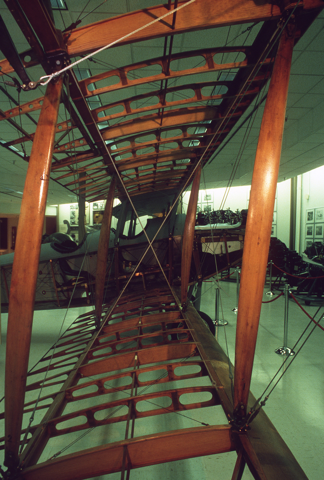 A vintage Curtiss JN model