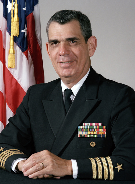 Captain Lucian C. Martinez, USN (uncovered)
