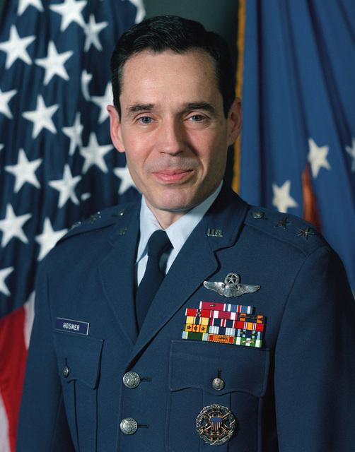 Major General Bradley Hosmer, USAF (uncovered)