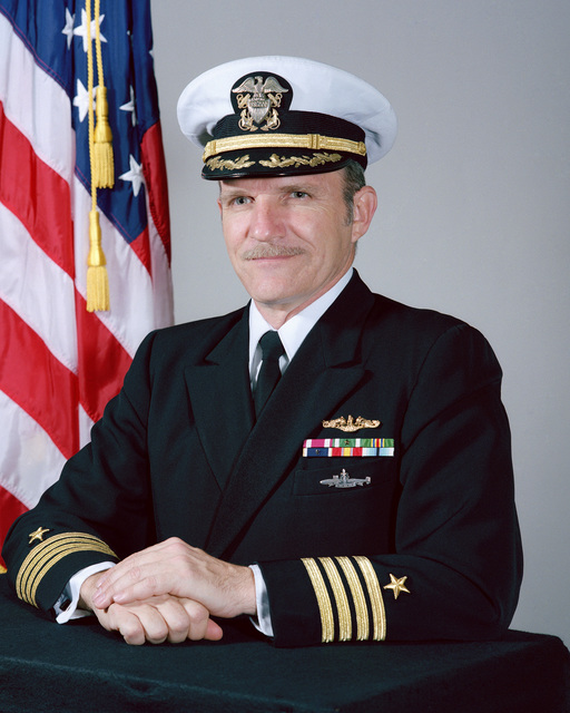 Captain Dean W. Kiess, USN (covered)
