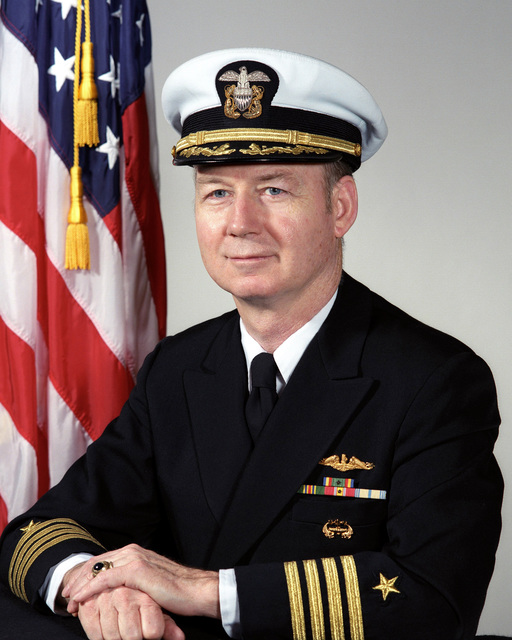 Captain George W. Martin, USN (covered)