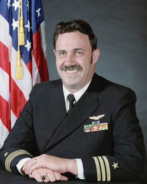 Commander (CDR) David G. Hershey, USN (uncovered)