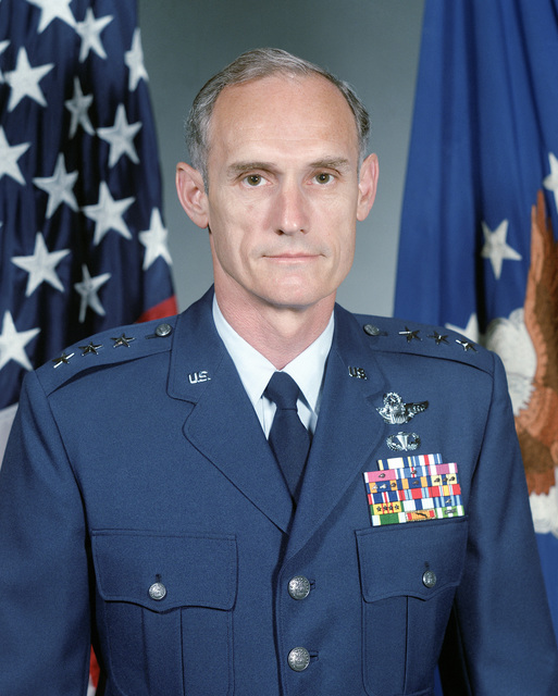 Lieutenant General Merrill A. McPeak, USAF (uncovered)