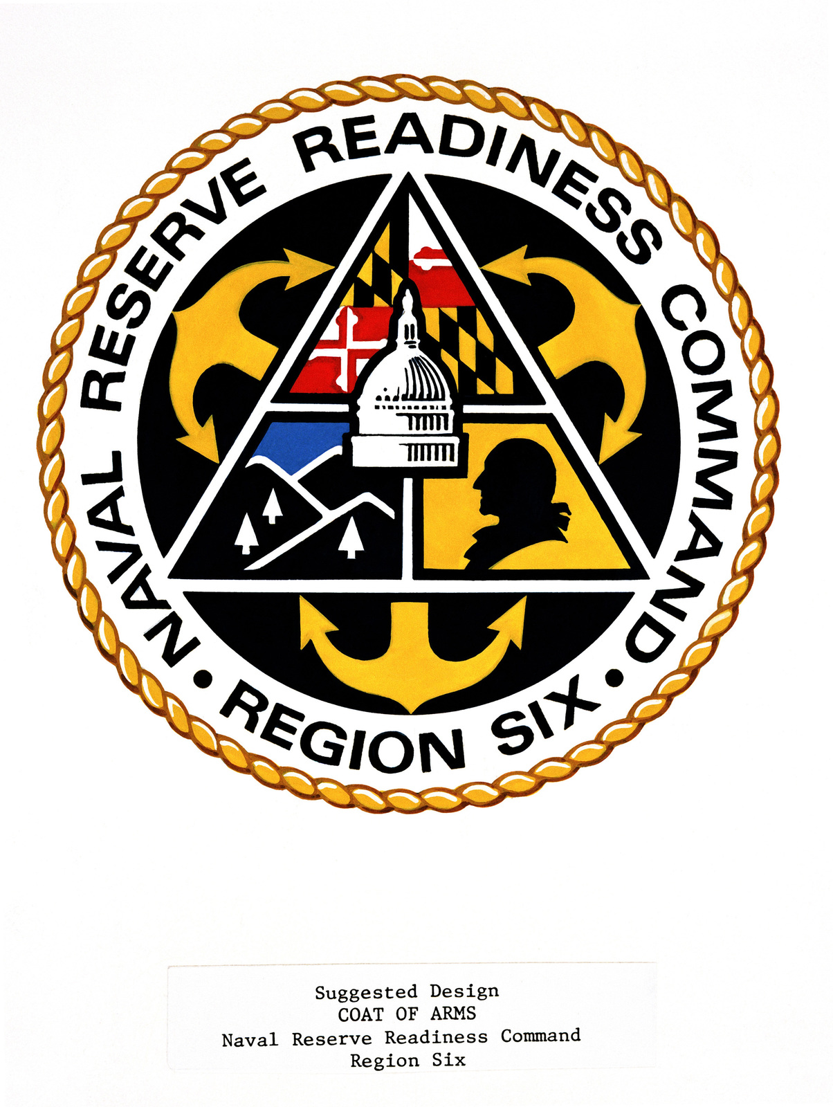 Suggested coat of arms for: Naval Reserve Readiness Command