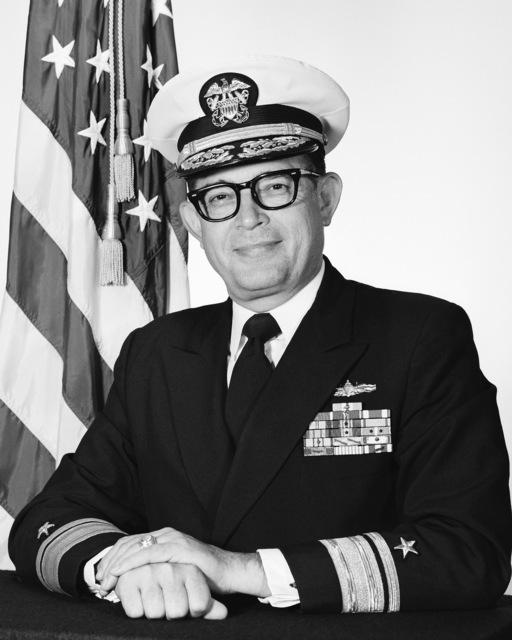 Rear Admiral (RADM) Lawrence Layman, USN (covered)