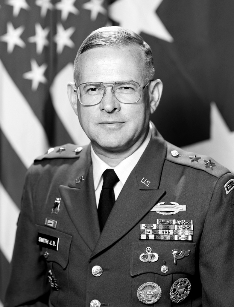 Major General James D. Smith, USA (uncovered)