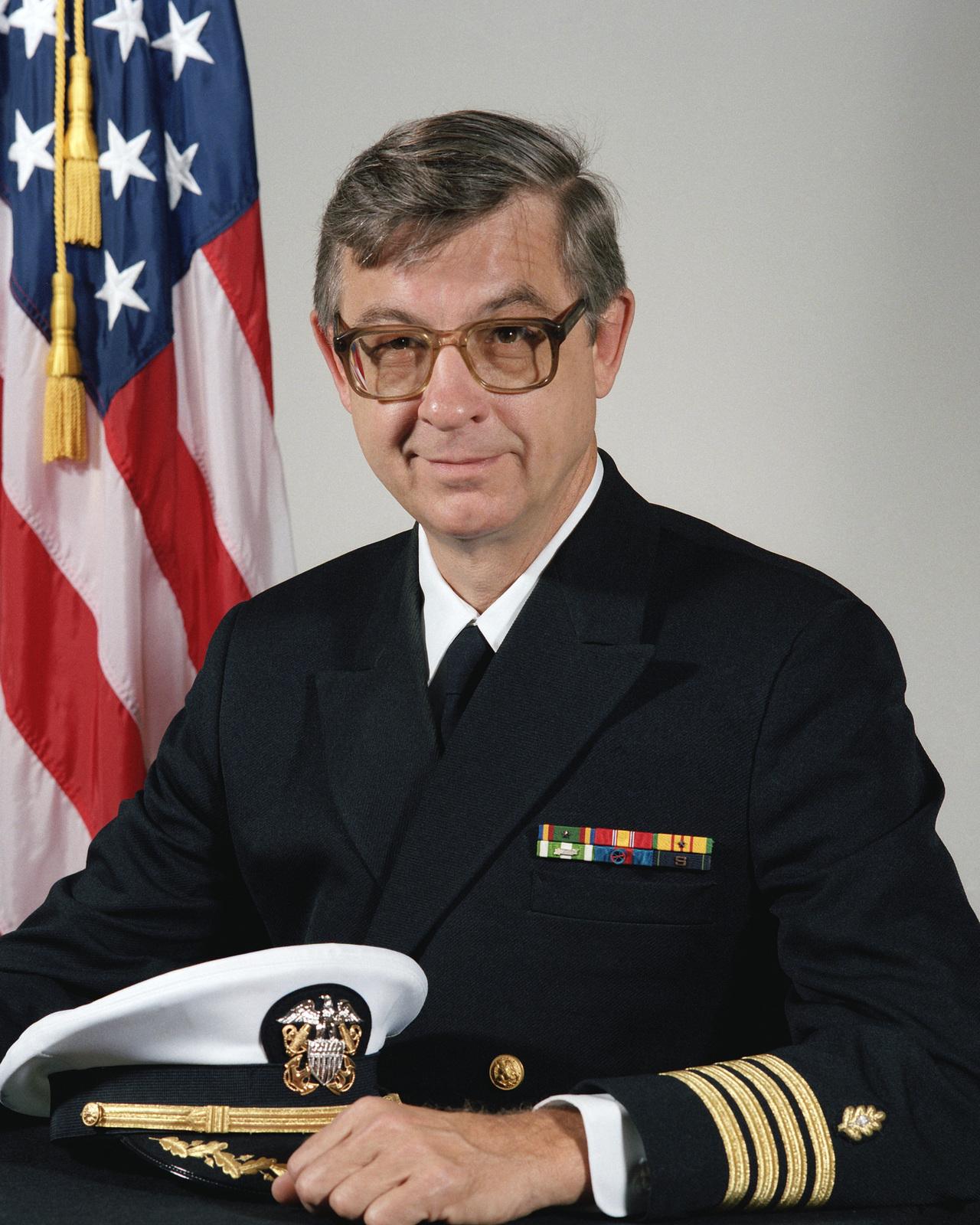 Captain (CAPT) William R. Hix, USN (uncovered)