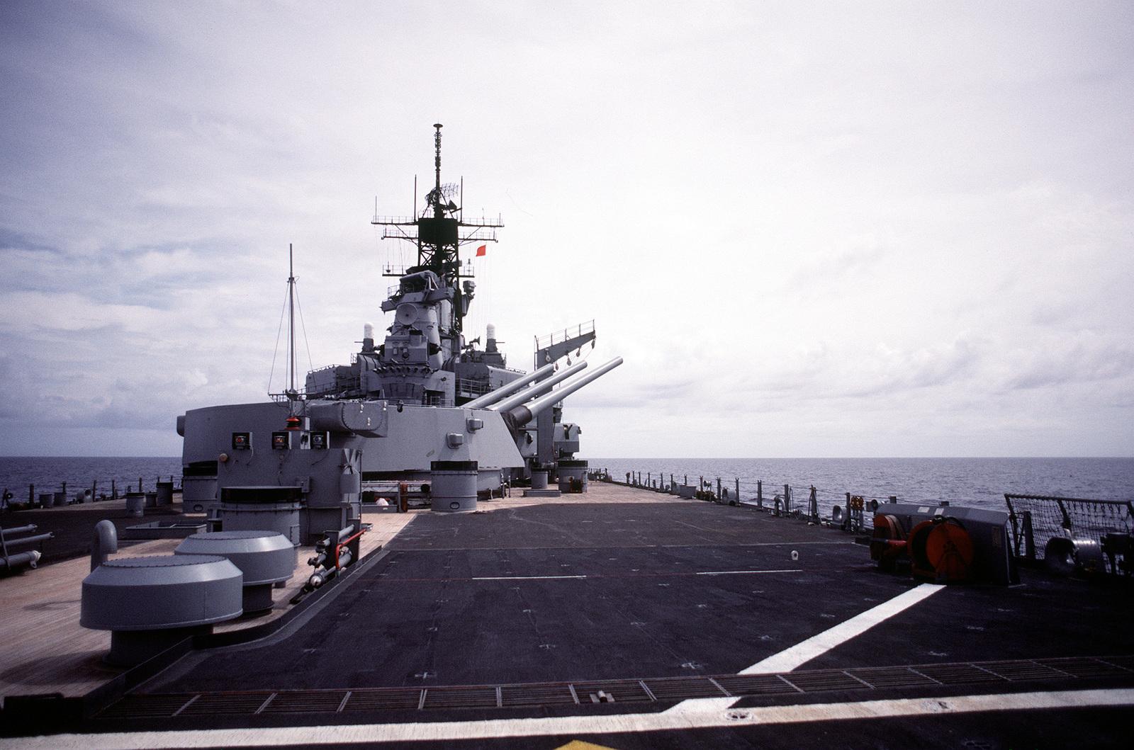 The No  3 Mark 7 16-inch/50 caliber gun turret aboard the