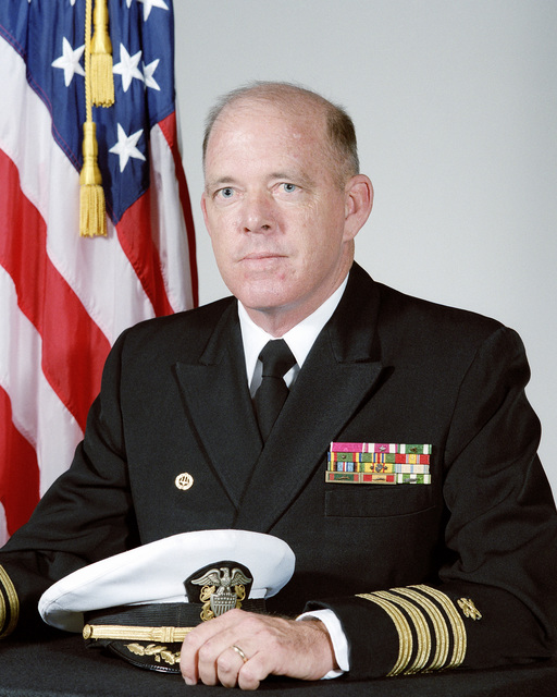 Captain (CAPT) Eric R. Wilson, USN (uncovered)