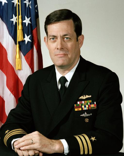 Commander John L. Byron, USN (uncovered)