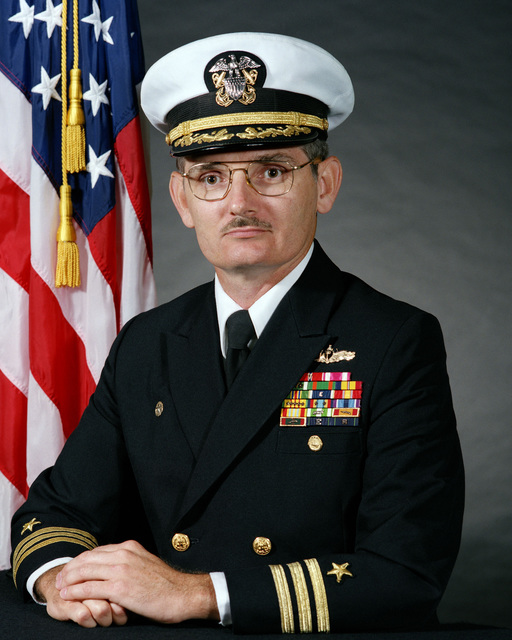 Commander (CDR) William J. McCarthy, USN (covered)
