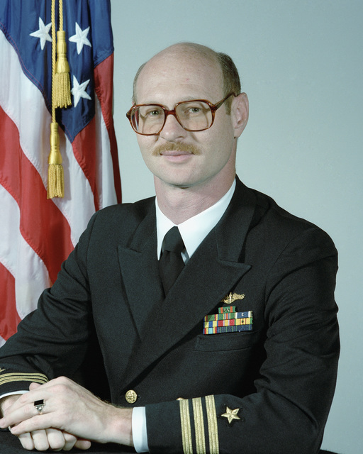 Commander (CDR) Gary T. Satterfield, USN (uncovered)