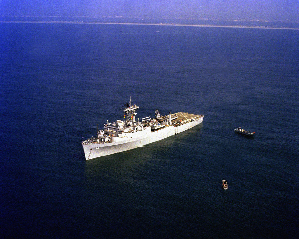 USS ANCHORAGE LSD 36 USN Navy Naval Ship Photo Print