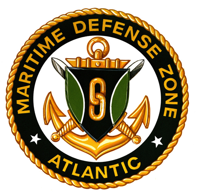 Coat of arms for the Maritime Defense Zone Atlantic