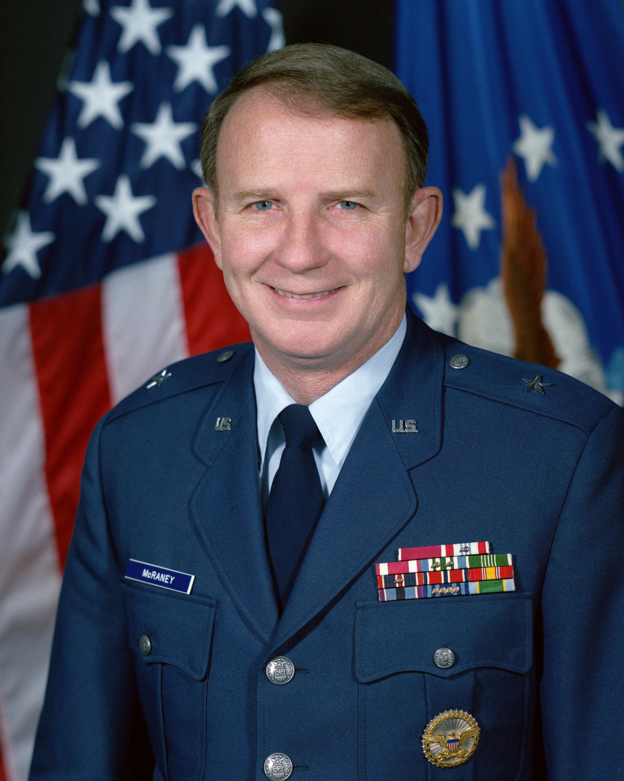 Brigadier General Michael P. McRaney, USAF (uncovered)