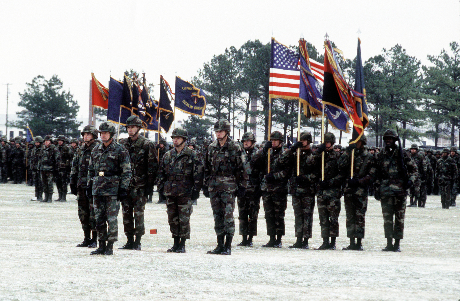 101st Airborne Forward Observer: Members Of The 101st Airborne Division March On The Parade