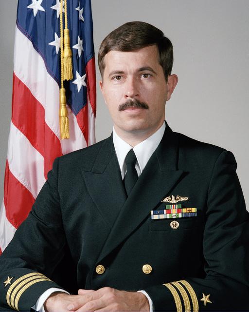 Commander (CDR) Floyd P. Dumphey, USN (uncovered)