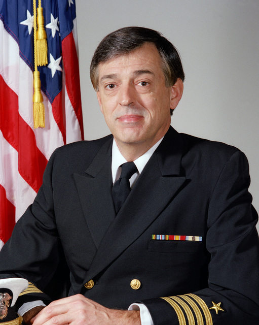 Captain (CAPT) Peter C. Floto, USN (uncovered)