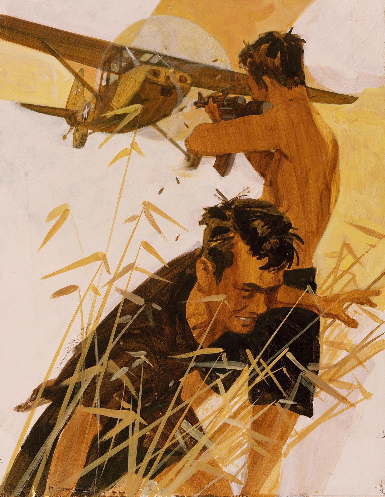 "Artwork: ""Untitled"". Artist: Lou Nolan. US Air Force Art Collection"