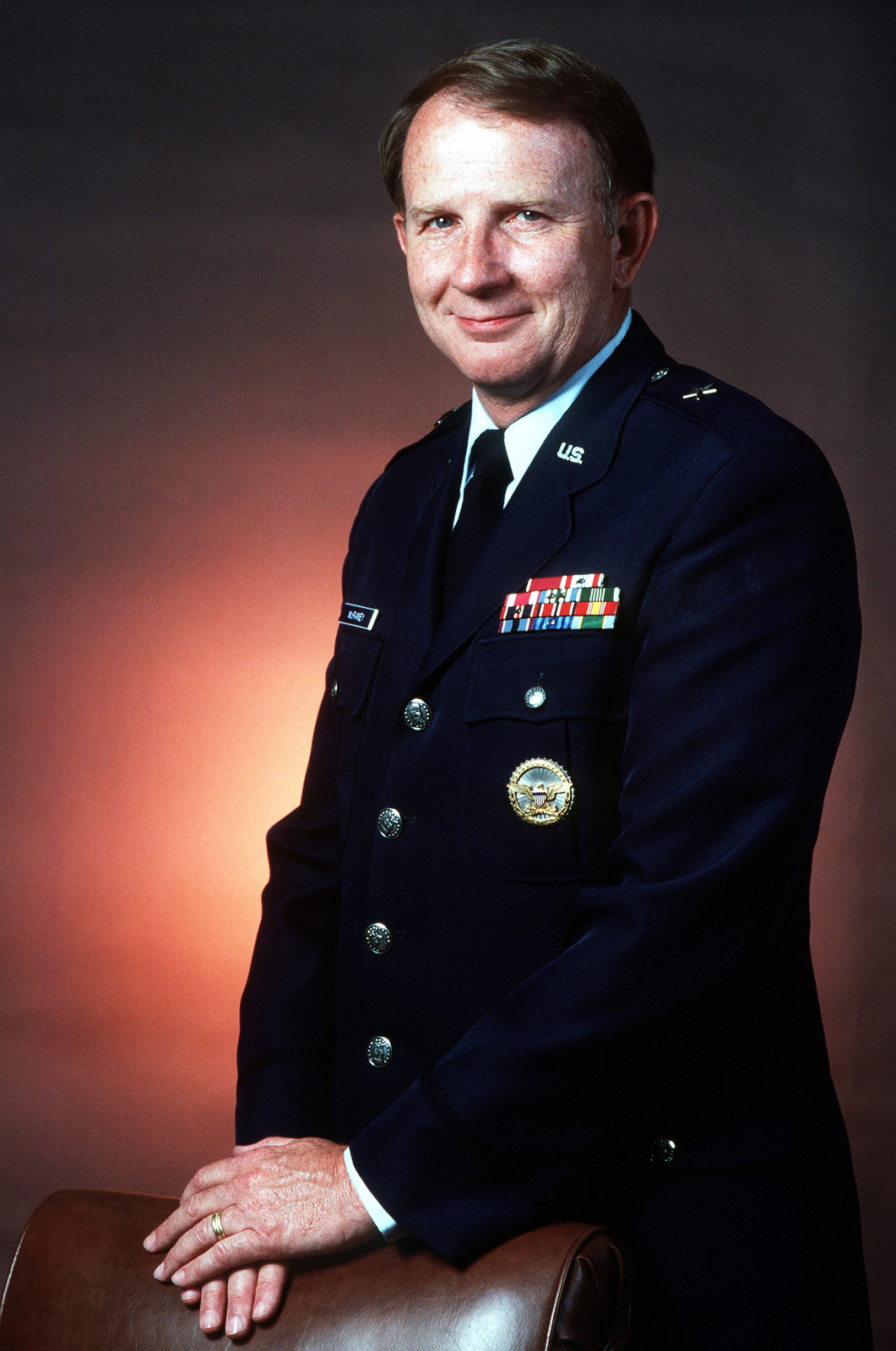 BGEN Michael P. McRaney, USAF (uncovered)
