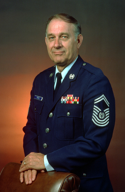 CHIEF MASTER SGT. of the Air Force Sam E. Parish, USAF