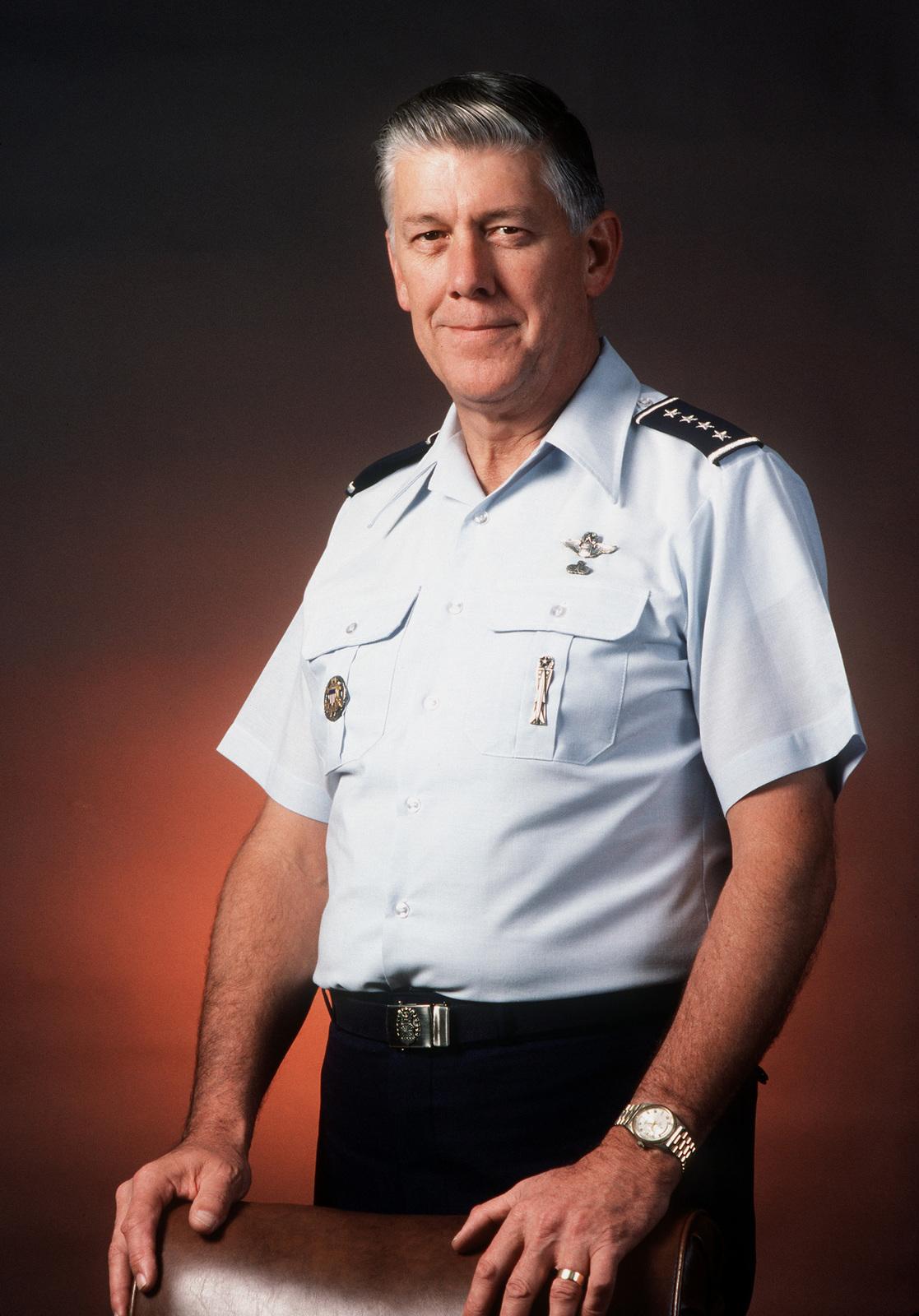 GEN Lawrence A. Skantze, USAF (uncovered)