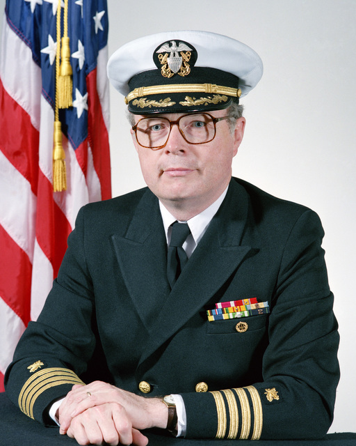 Captain (CAPT) Francis W. Keane, USN (covered)
