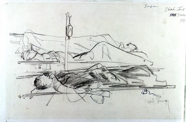 """Artwork: """"Shock Tent,"""" Saipan- Artist: Robert Benney"""