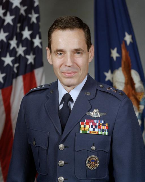 Portrait: US Air Force (USAF) Lieutenant General (LGEN) Bradley C. Hosmer (uncovered)