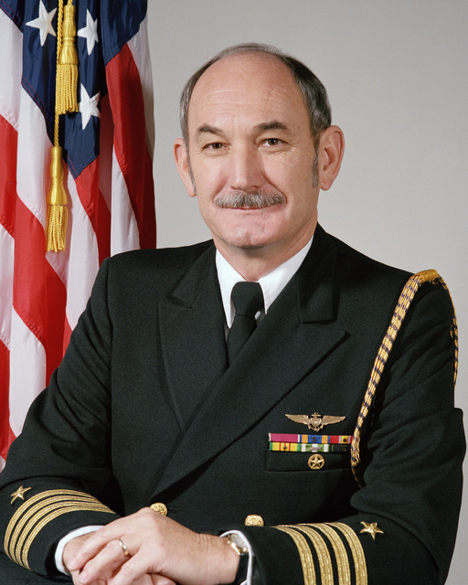 Portrait:  US Navy (USN) Captain (CAPT) Kenneth R. McCarthy (uncovered)