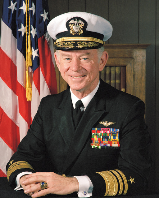 Portrait:  US Navy (USN) Vice Admiral (VADM) Paul F. McCarthy (covered)