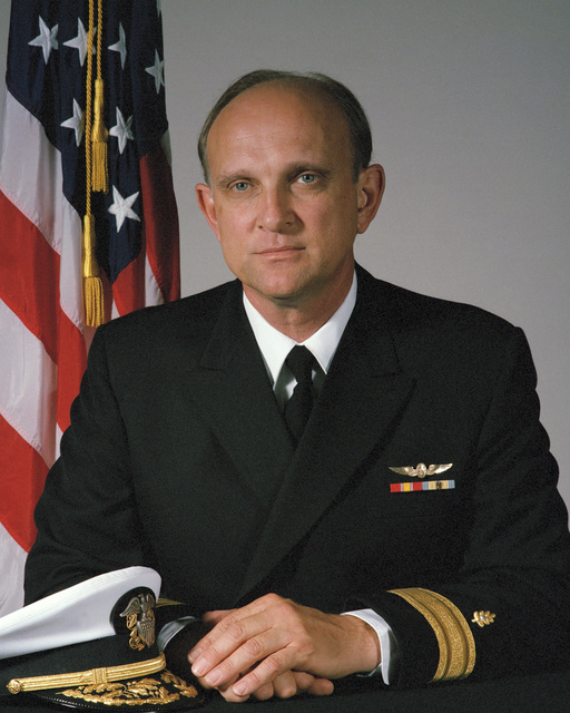 Portrait: US Navy (USN) Rear Admiral (RDML) (lower half) Paul T. Kayye (uncovered)