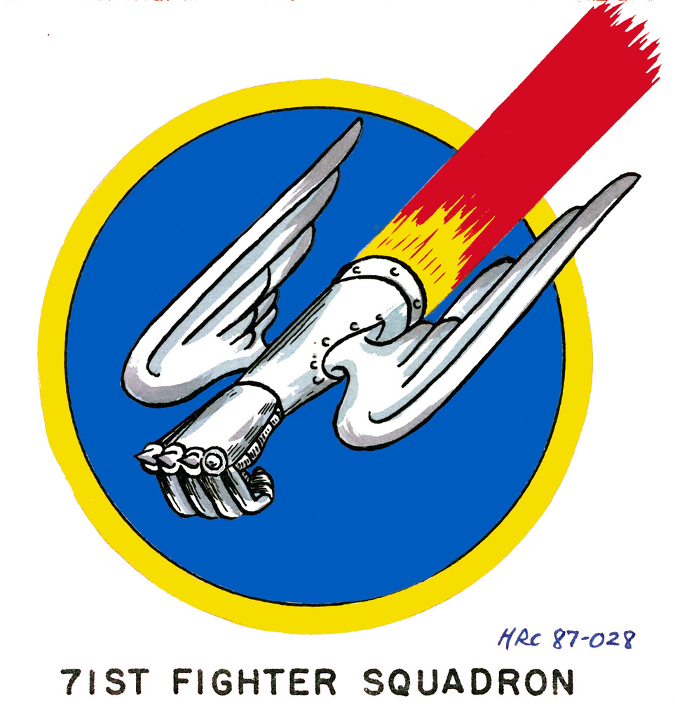 Approved insignia for:  71st Fighter Squadron