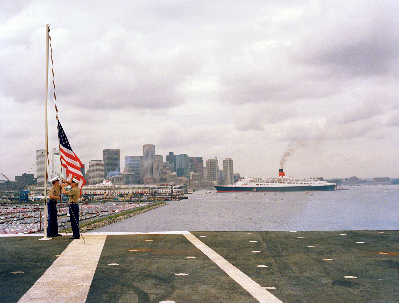 marines on board the aircraft carrier uss john f kennedy cv 67