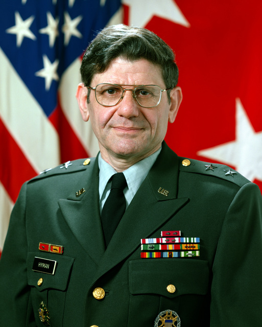 MGEN Stanley H. Hyman, USA (uncovered)
