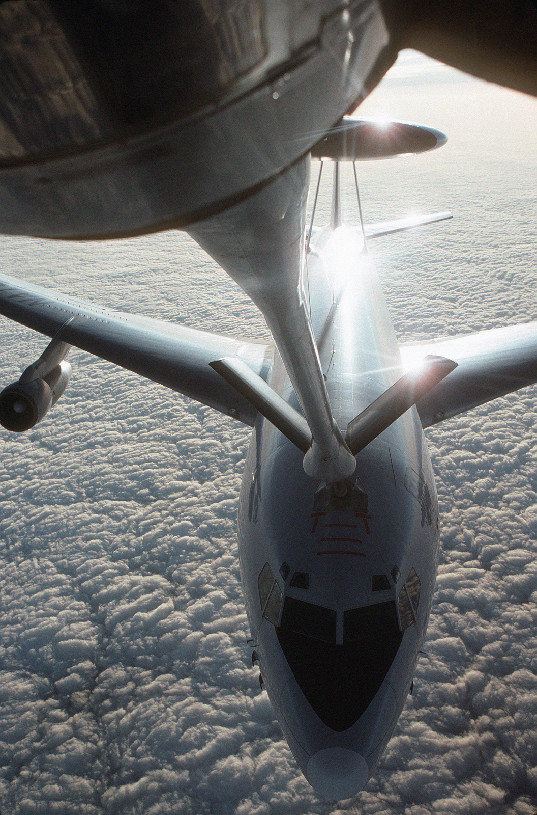 A NATO E-3A Sentry airborne warning and control system