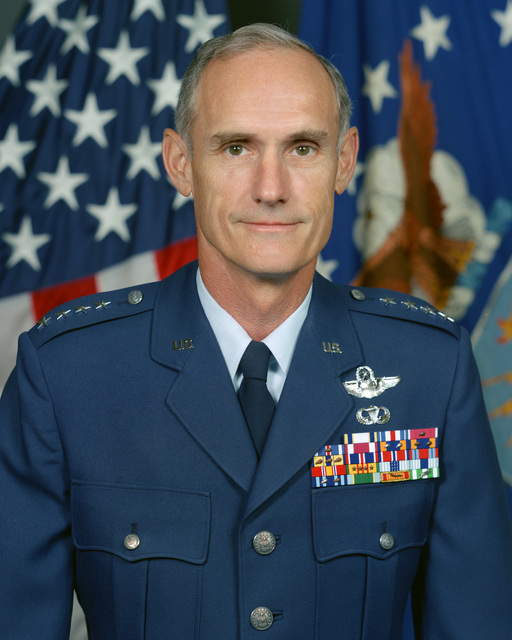 Portrait:  US Air Force (USAF) General (GEN) Merrill A. McPeak (uncovered)