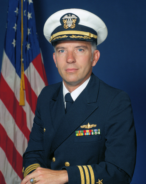 Portrait:  US Navy (USN) Commander (CDR) Cornelius F. O'Leary (covered)