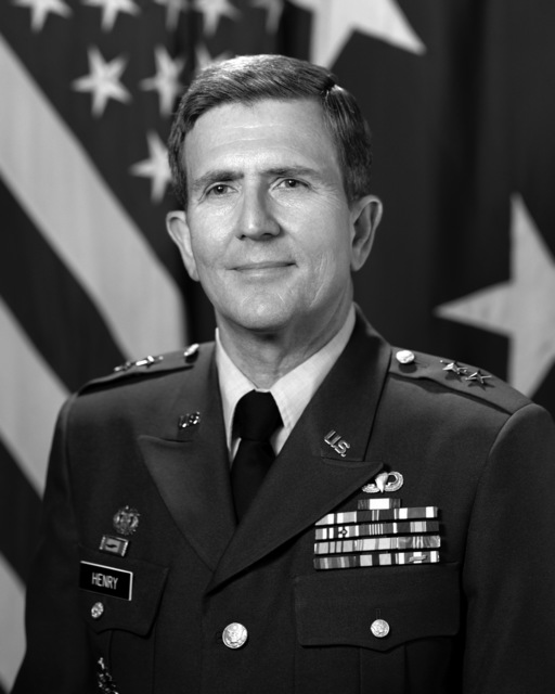 Portrait of U.S. Army MAJ. GEN. Charles R. Henry(Uncovered)U.S. Army PHOTO By Mr. Russell F. Roederer, CIV